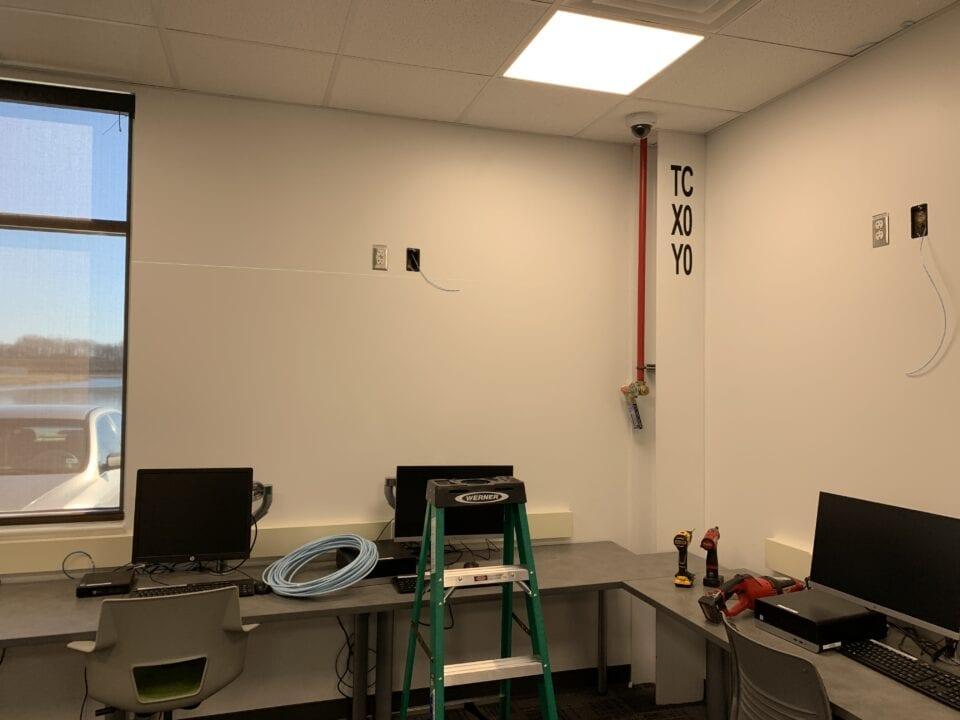SIA training center A/V setup